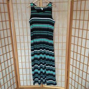 Merona Striped Dress with elastic waist